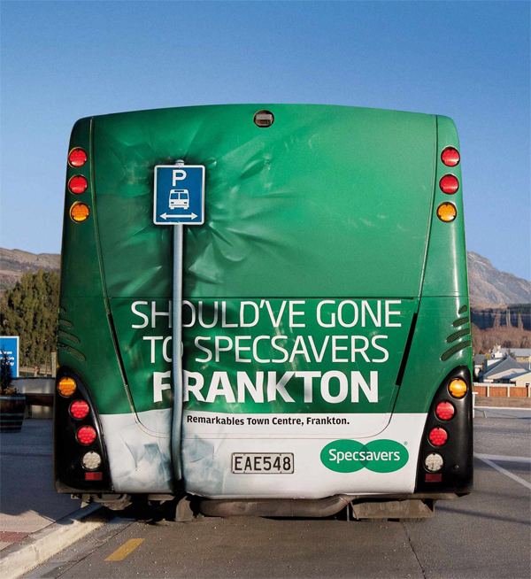 10 Stunning Bus Advertising