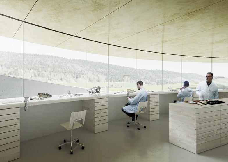 Bjarke-Ingels-unveils-spiralling-museum-for-Swiss-watchmaker_dezeen_ss_3