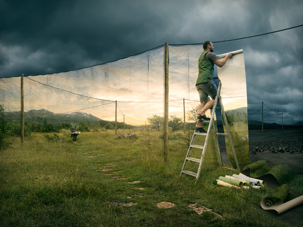 The surreal work of Erik Johansson