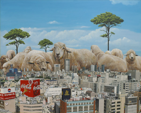 Searching for paradise: surreal paintings by Shuichi Nakano