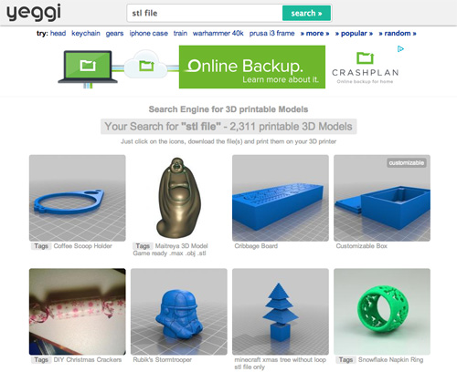 10 websites to find free models for 3d printing for Mobel 3d download