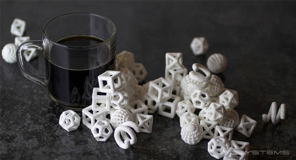 "Amazing 3D printed sugar ""cubes"""