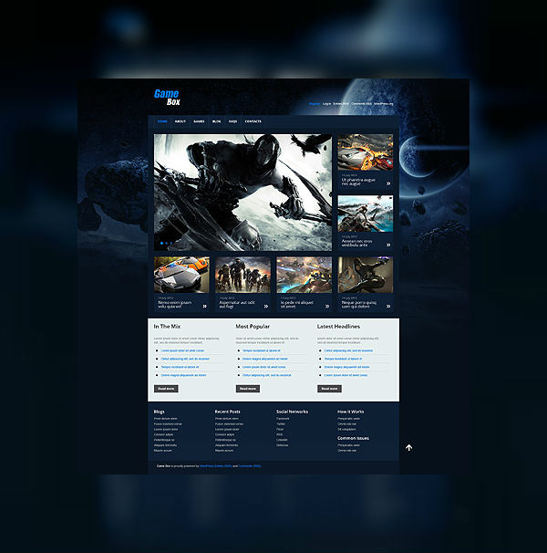 Upgrade your gaming empire: 10 best games WordPress themes