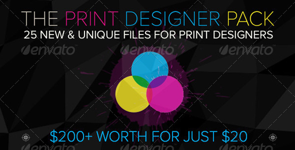 The Print Designer Pack, only for 7 days