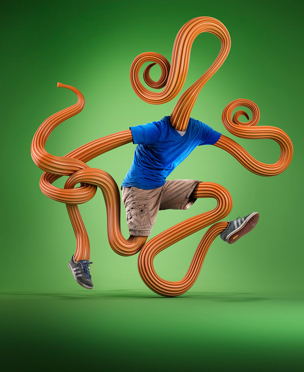 Living sculptures by Mike Campau