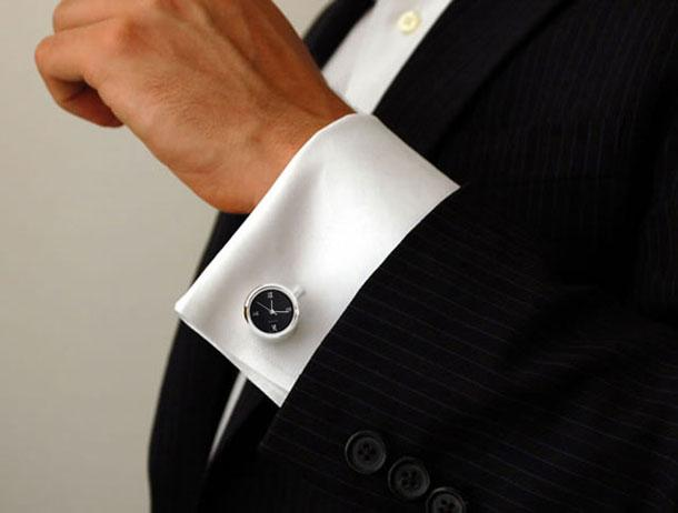 9. Watch Cufflinks
