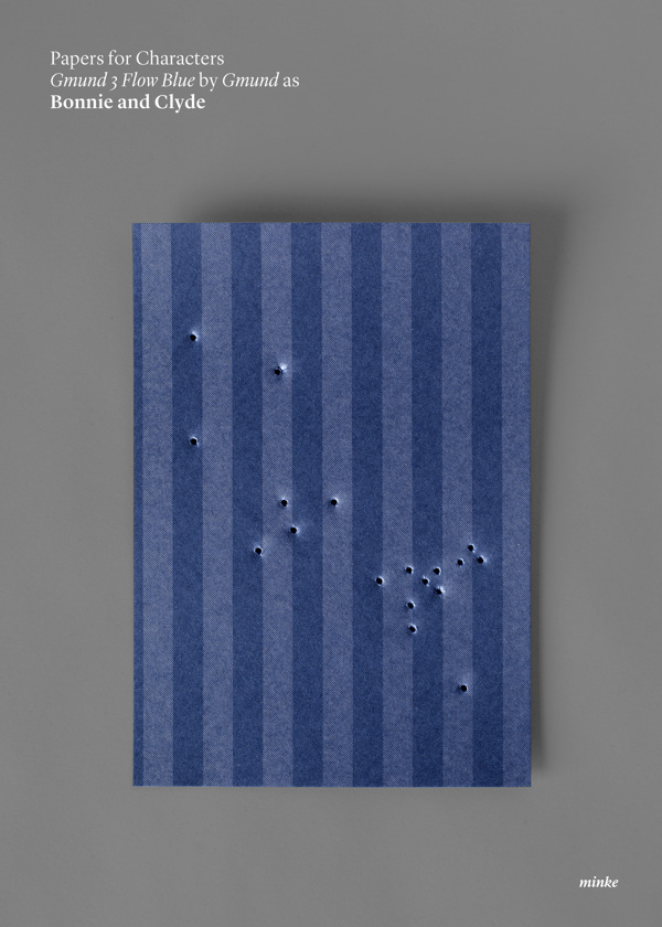 Minimalist paper movie posters