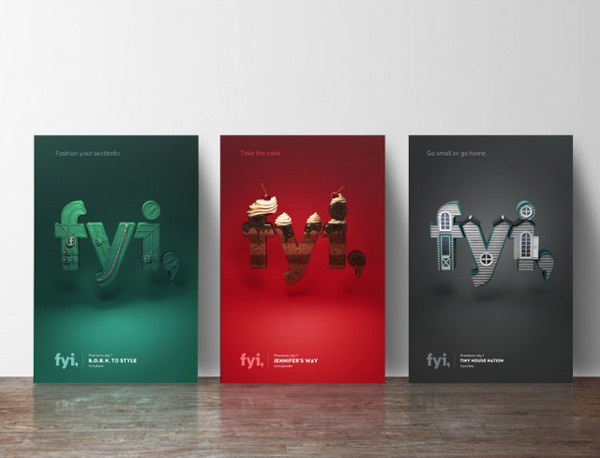 Visual identity for FYI Network