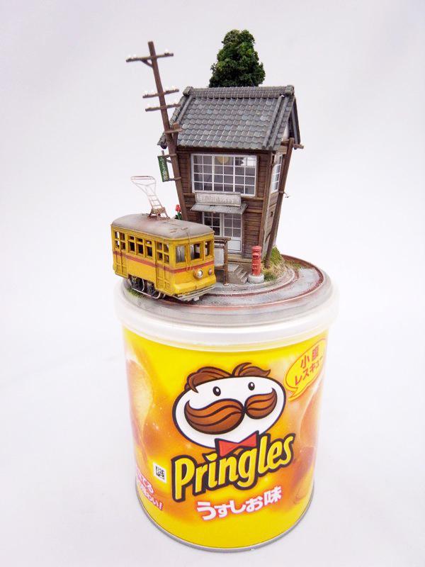 Miniature dioramas by Akihiro Morohoshi