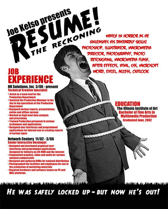 10 awesome resume designs for your inspiration designer daily