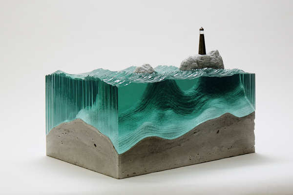 Spectacular glass art by Ben Young