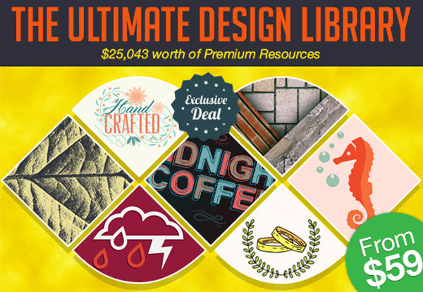 Only 1 day left to get the ultimate design library