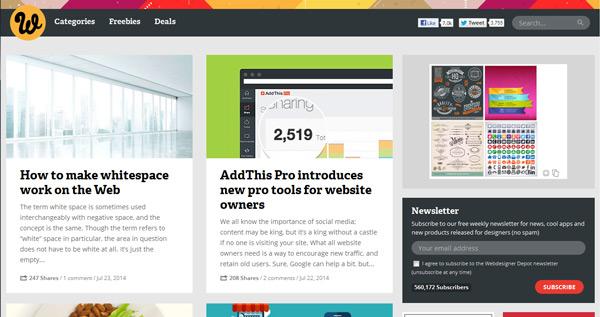 4. Web Designer Depot