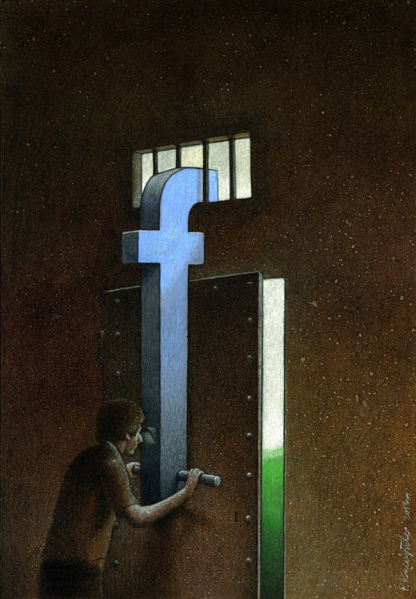 Pawel Kuczynski's illustrations will make you think