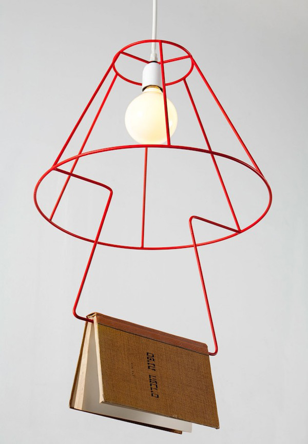 The booklovers pendant lamp