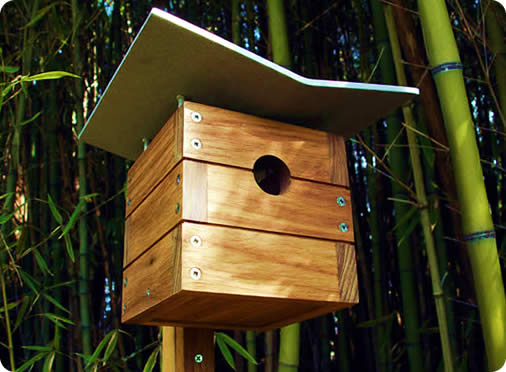 12 cool architectural birdhouses - designer daily: graphic and web