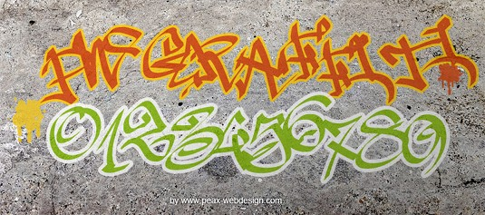 14 awesome free graffiti fonts