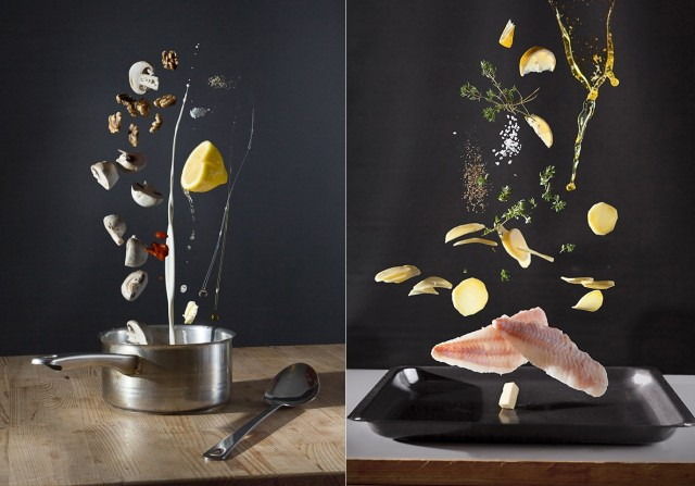 Great concept for recipe photography