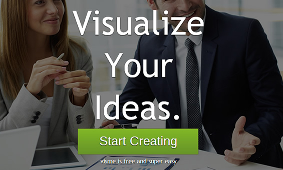 "Visualize Your Ideas With ""Visme"""