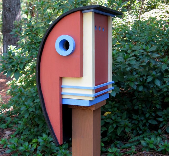 12 cool architectural birdhouses
