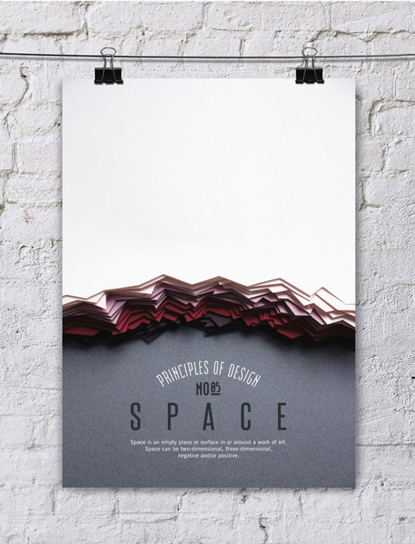 Stunning posters about the principles of design