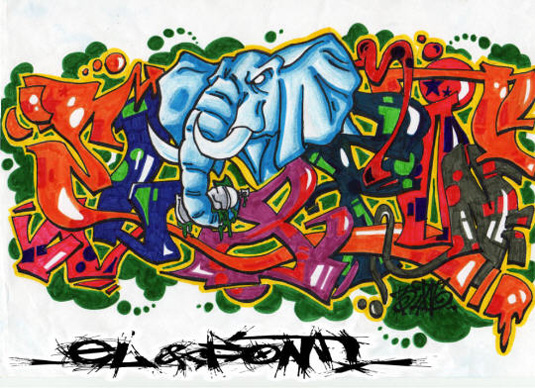 14 awesome free graffiti fonts - Designer Daily: graphic and web ...