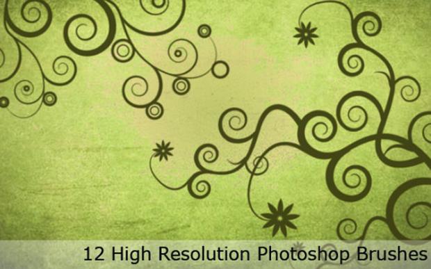 12-Swirl-Brushes