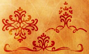 Decorative-swirls-brush