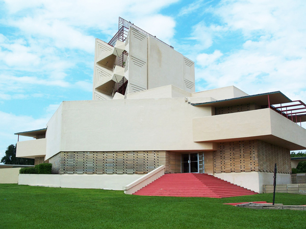 How 3D printing is rescuing Frank Lloyd Wright's Annie Pfeiffer chapel