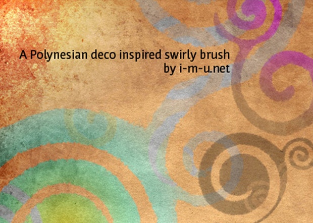 Swirl-Polynsian-Brush