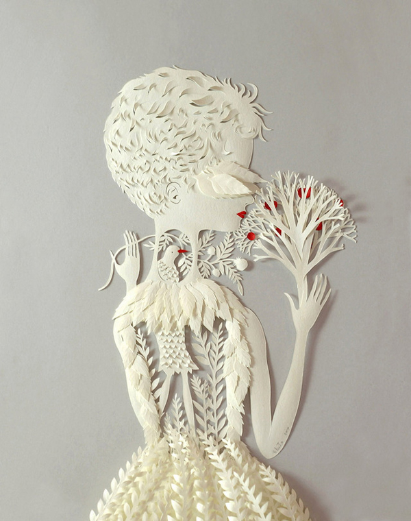 stunning paper art illustrations by elsa mora