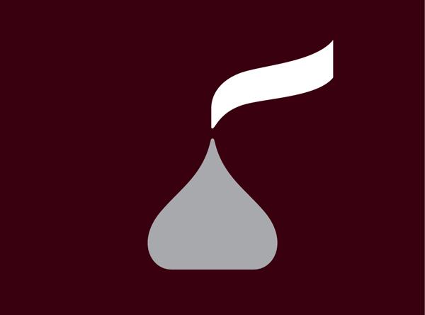 Hershey's new logo looks like a turd