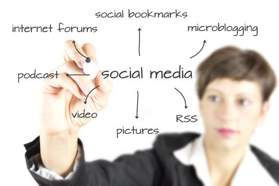 photodune-760072-business-woman-draving-social-media-diagram-xs