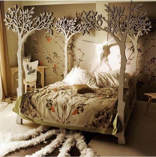 skull bed