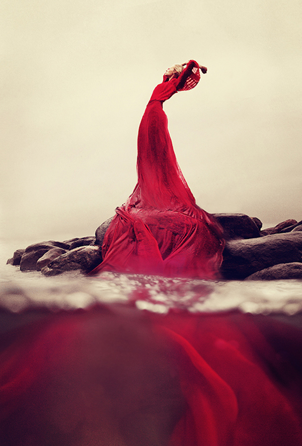 Dreamlike self portraits by Kylli Sparre