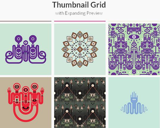 thumbnail grid
