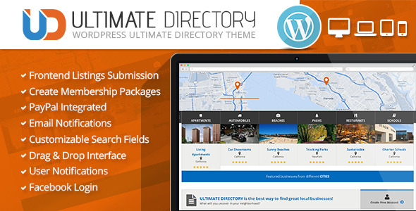 8 themes to create a directory site with wordpress ultimate business directory cheaphphosting Gallery