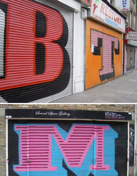 Bold Letters by Eine
