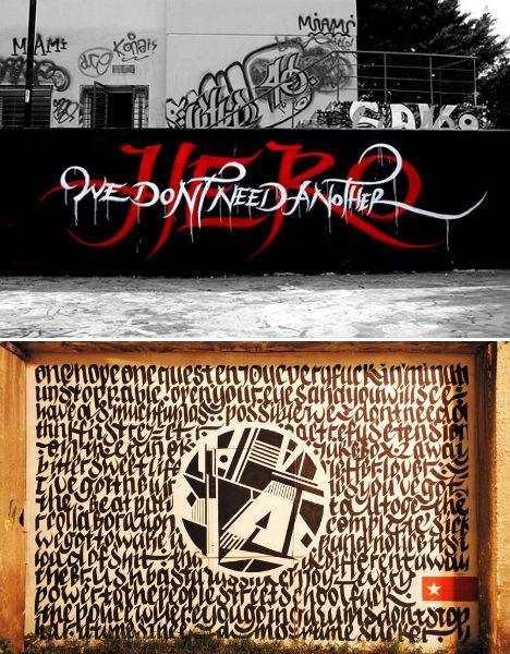 Calligraffiti by Greg Papagrigoriou