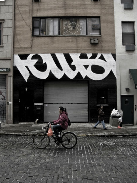 Cropped Typography by Faust