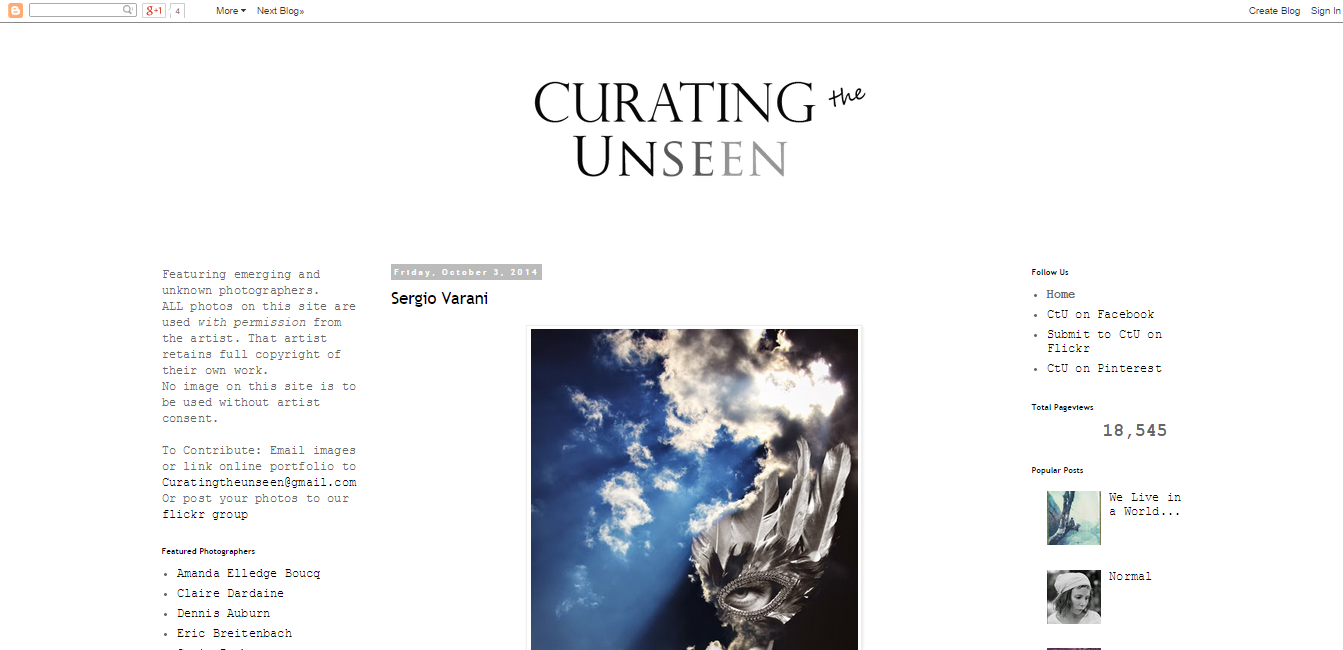 Curating the Unseen