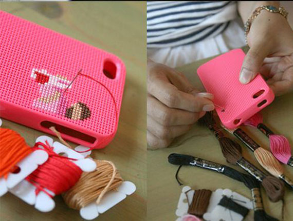 DIY Stichable iPhone Case