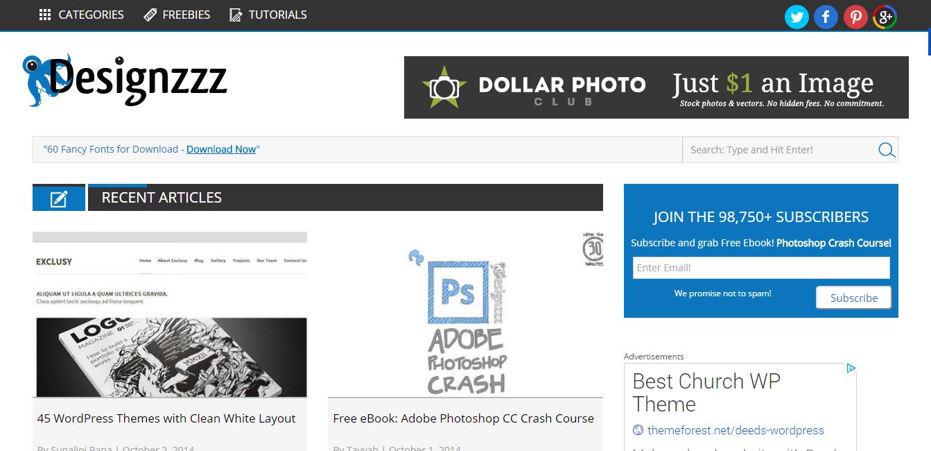 Designzzz   Graphics and Web Design Blog