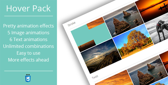 Hover Effects Pack