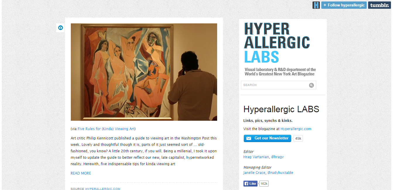 Hyperallergic LABS