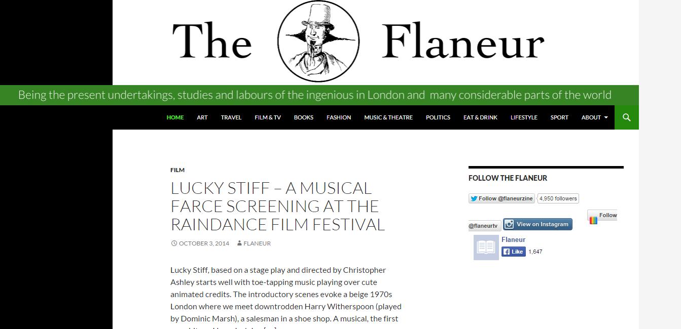 The Flaneur art blog