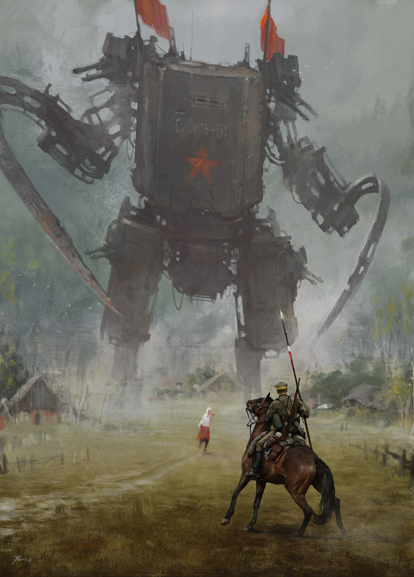 Spectacular illustrations by Jakub Rozalski