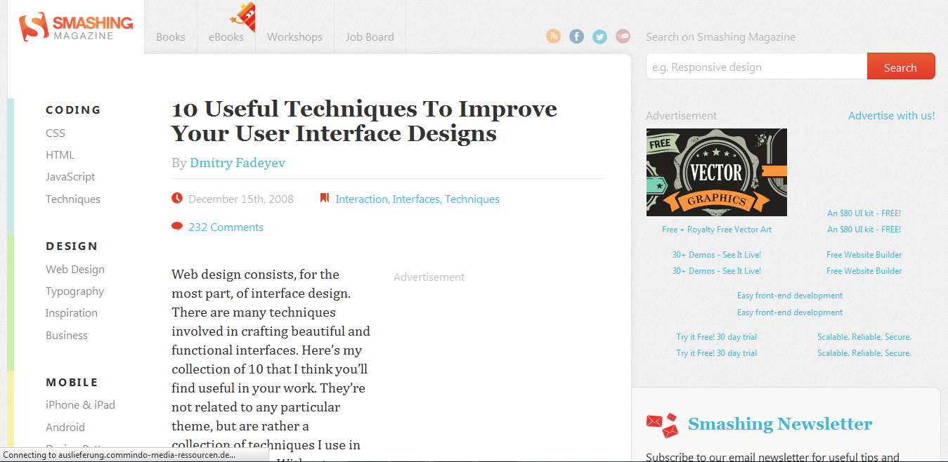 10 Useful Techniques To Improve Your User Interface Designs