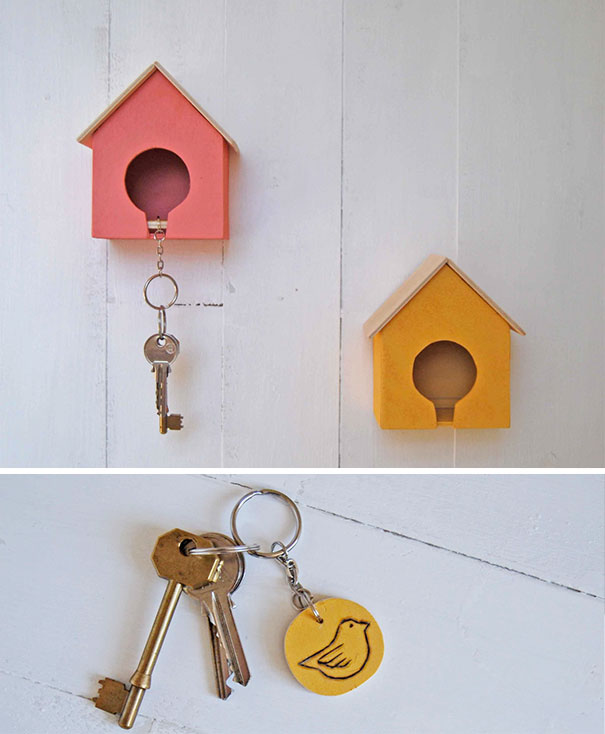 13 Awesome Key Holder Designs