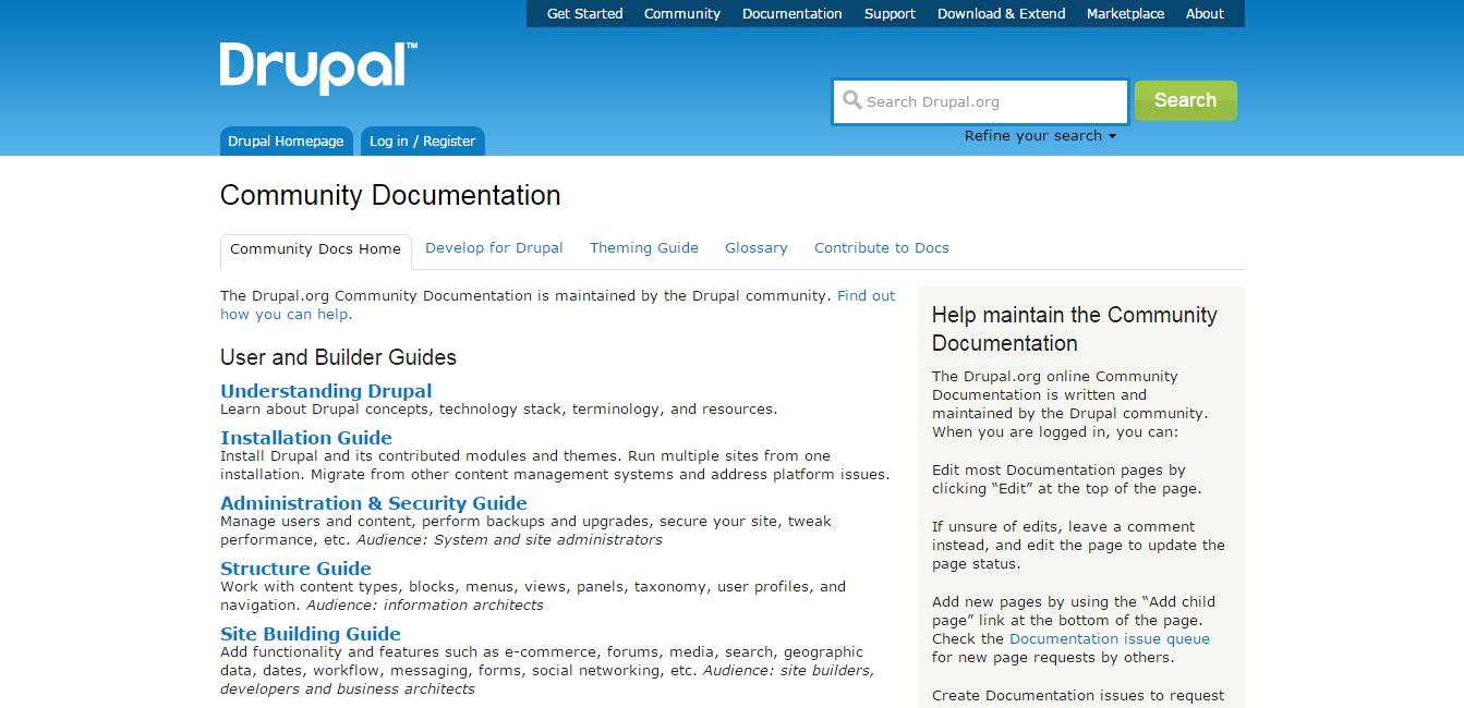 Documentation   Drupal.org